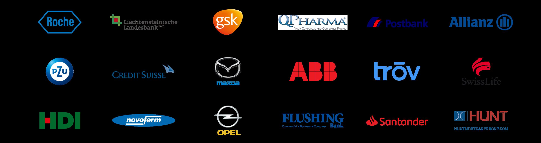 Client logos (Desktop)